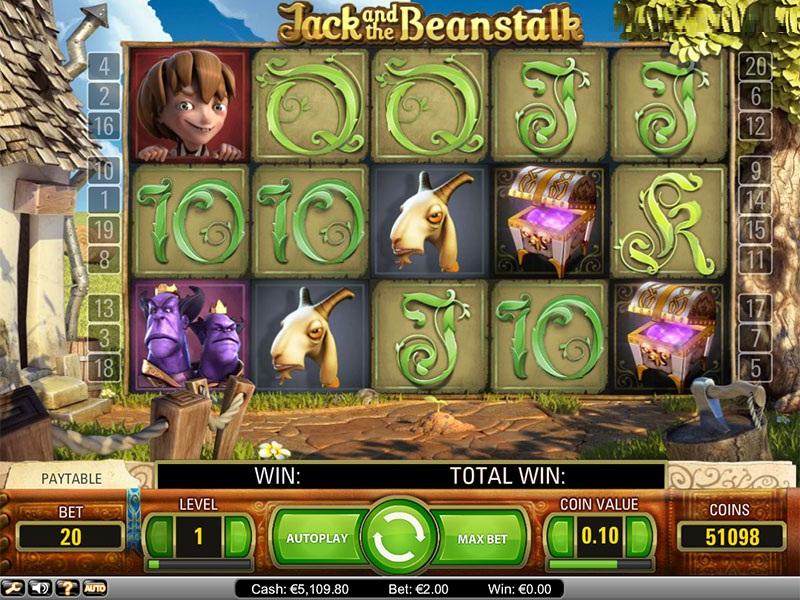 Slot İnceleme ve Bilgi: Jack ve Beanstalk